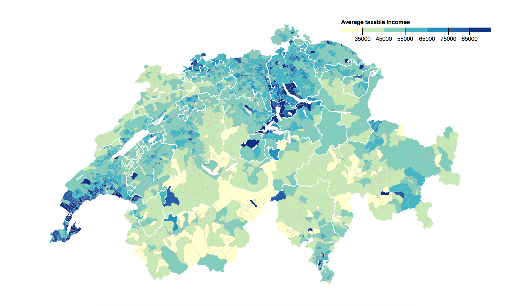 Inequality and poverty in Switzerland
